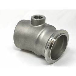 Flanged exhaust pipes stainless steel car auto parts made by investment casting