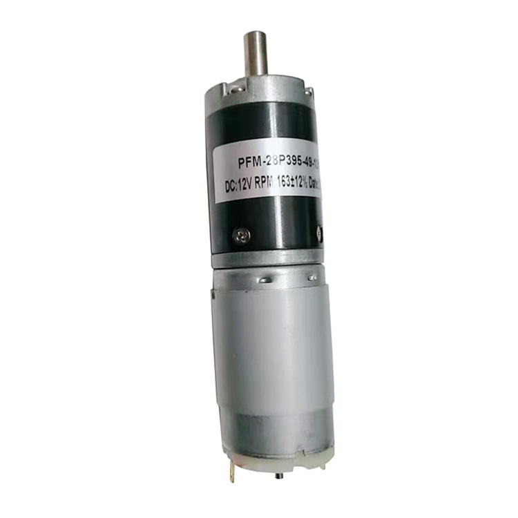Miniature 12V~24V DC Planetary Geared Motor 28mm Gearbox Motor