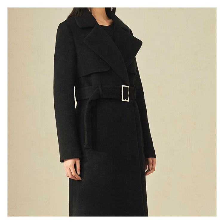 Professional Ladies Factory Long Coat With Low Price
