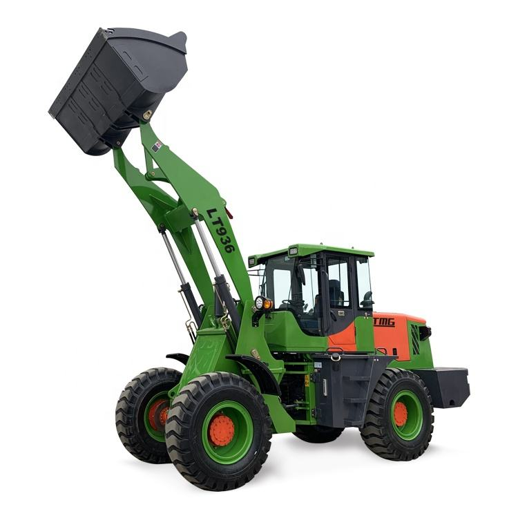 LTMG CE approved small pay loaders mini 1-3t 3 ton 3.5 ton loader wheel front shovle wheel loader for sale