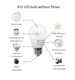 Low Bulb China Led Bulb Led Bulb WOOJONG Factory Good Quality Low Price Skd Led Bulb Parts Raw Material Made In China