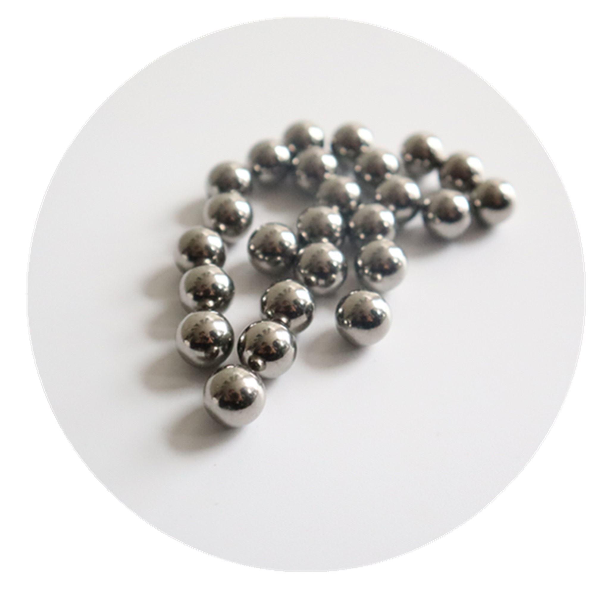 5000 PCS 201 Stainless Steel Loose Bearing Balls G100 Bearings Ball 3mm