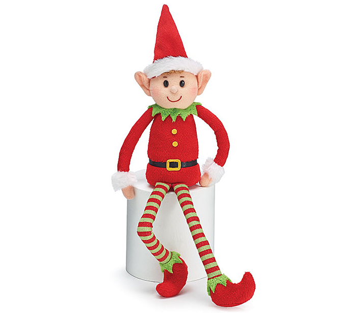 free sample Custom christmas elf Toy/2020 hotsale plush christmas elf toy/Stuffed Elves Plush Xmas Elf Toy girl doll gift toys