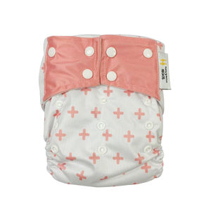 Wholesale popular customizable reusable baby cloth diapers