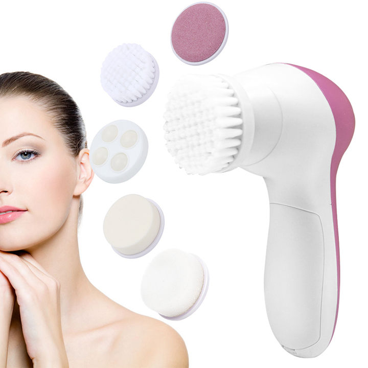 Face wash facial cleanser body cleansing brush 5 in 1 beauty care massager