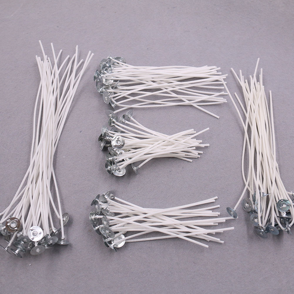High Quality 100pcs/Bag Handmade Cotton Wicks Woven Candle For Make Candle Lights Accessories