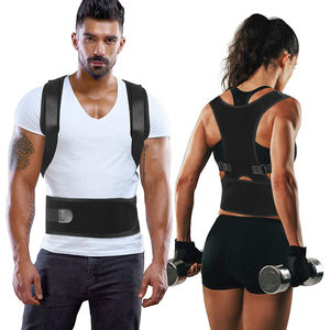 Pain Relief Improves Lumbar Support Provides Posture Back Brace Posture Corrector Shoulder Support Belt