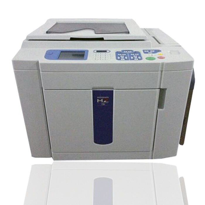 Cheap price Risos used digital duplicator machine risographs MZ770 two color copier printer