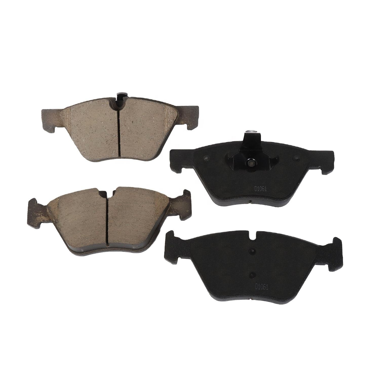 D1061 Brake Systems Manufacturer Price Auto Car Parts Spare Ceramic Front Brake Pads For Bmw Car Brakes
