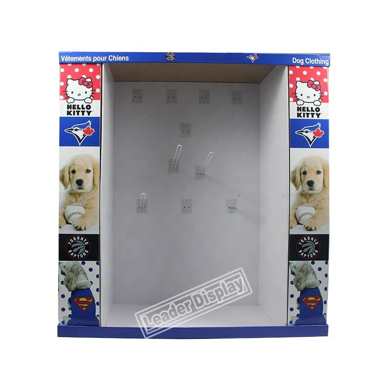 Portable Promosi Natal Pet Pakaian Display