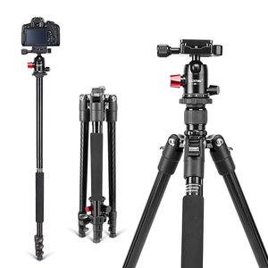 M6 Professional Aluminium alloy Tripod Stands for DSLR Camera 161CM Flexible Tripod