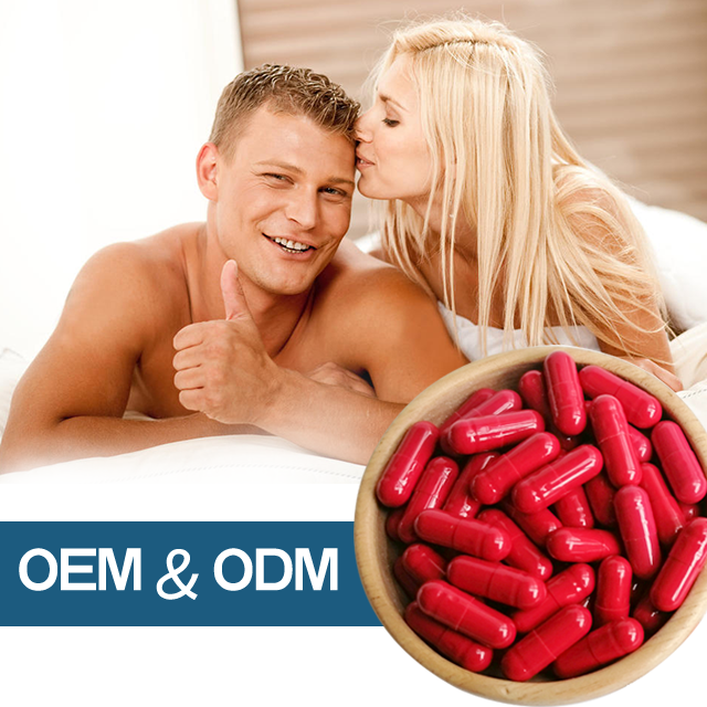 OEM Best natural herbal extract sex supplement for drive and stamina dysfunction erection Red power Herbal supplements For Man