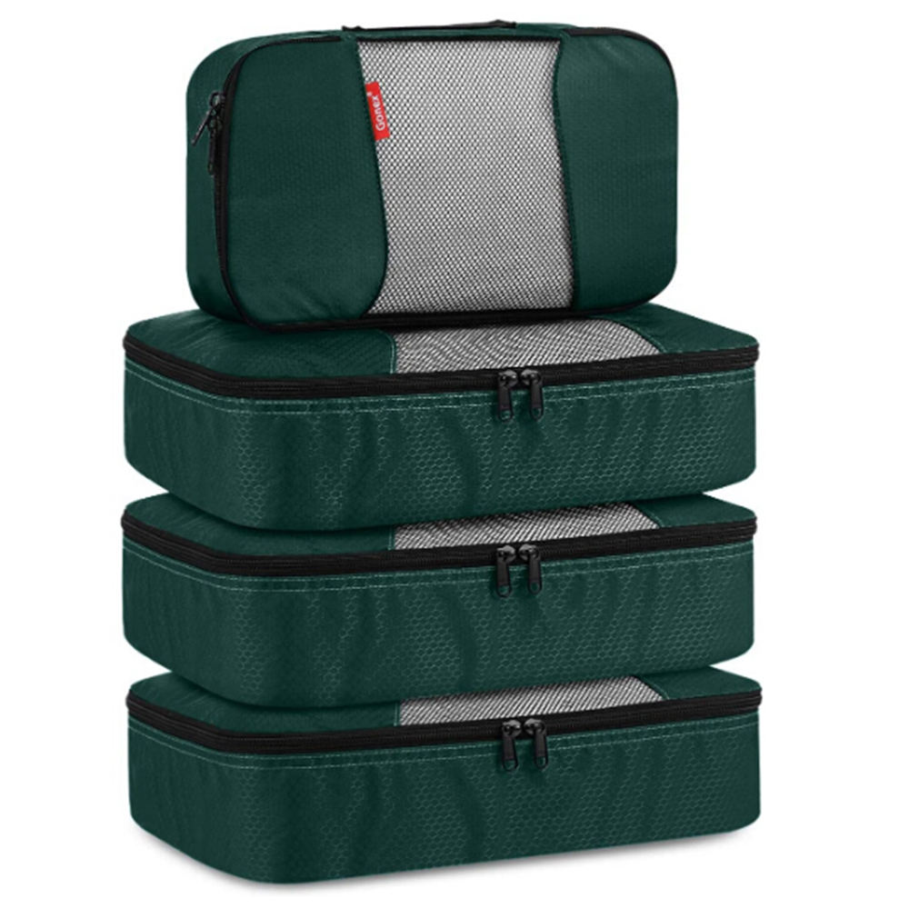 BSCI/Sedex Travel Packing Cubes Luggage Organizers Different Set 3 Medium+1 Small travel organizer