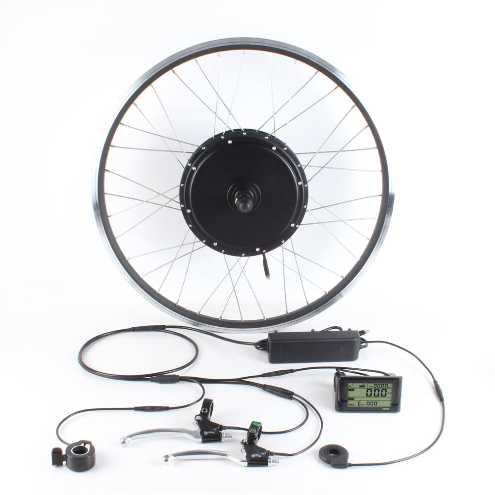 20 24 26 27.5 28 29 inch 700C E bike Conversion Kit 48V 500W EBike Electric Bicycle Front Rear Motor Wheel Kit