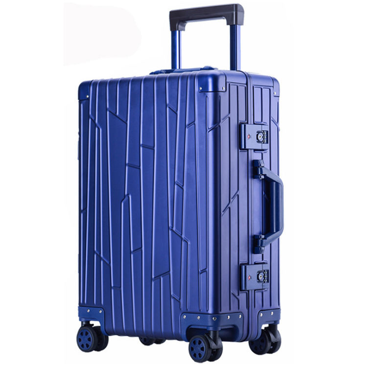 TangFei High-end PC Drawing Rod Luggage Suitcase Universal Wheel Suitcase 20 inch 22 inch 24 inch 26 inch Color : Black, Size : S