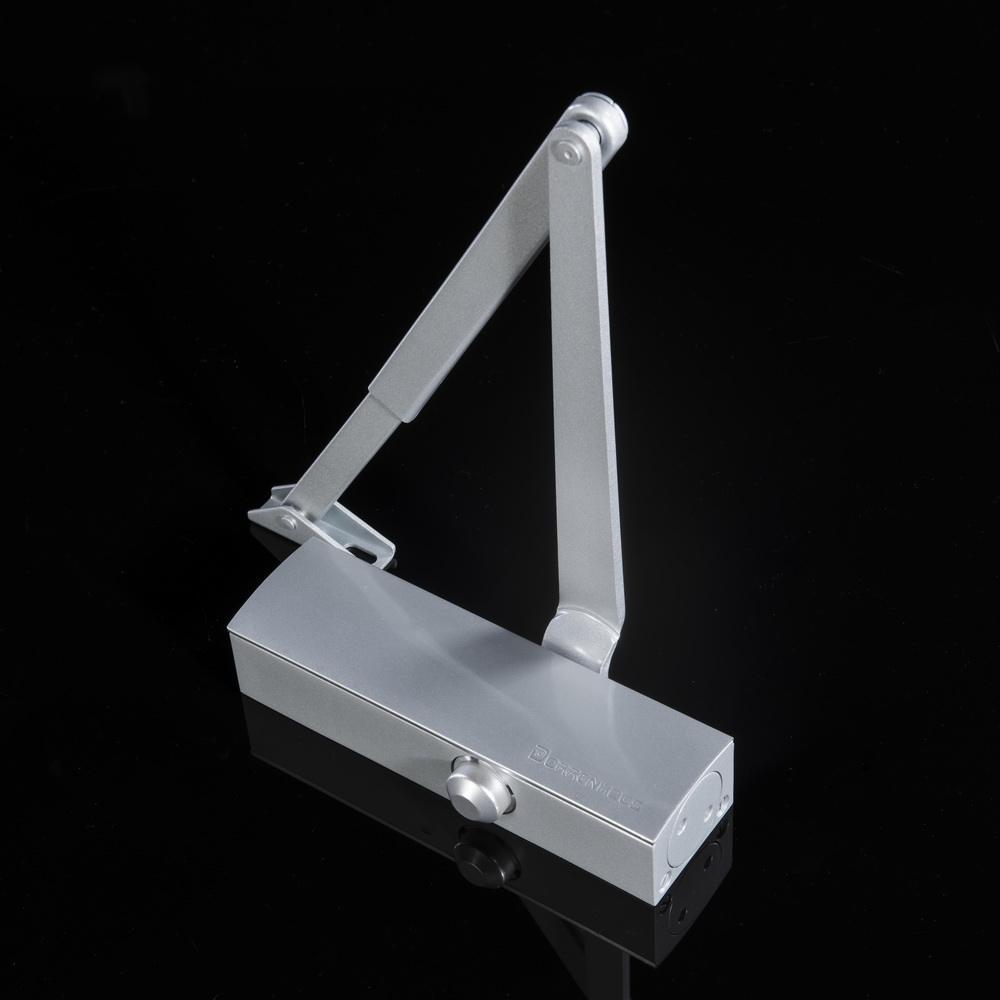 Aluminum Hydraulic Door Closer Size EN2 for 25-45KG Commercial Wooden//Metal Door