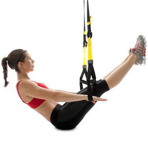 Equipment Suspension Exercise Pull Rope Straps Training