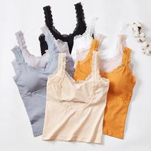 Cheap Camisole Bra Lace Backless Padded Camisoles For Women