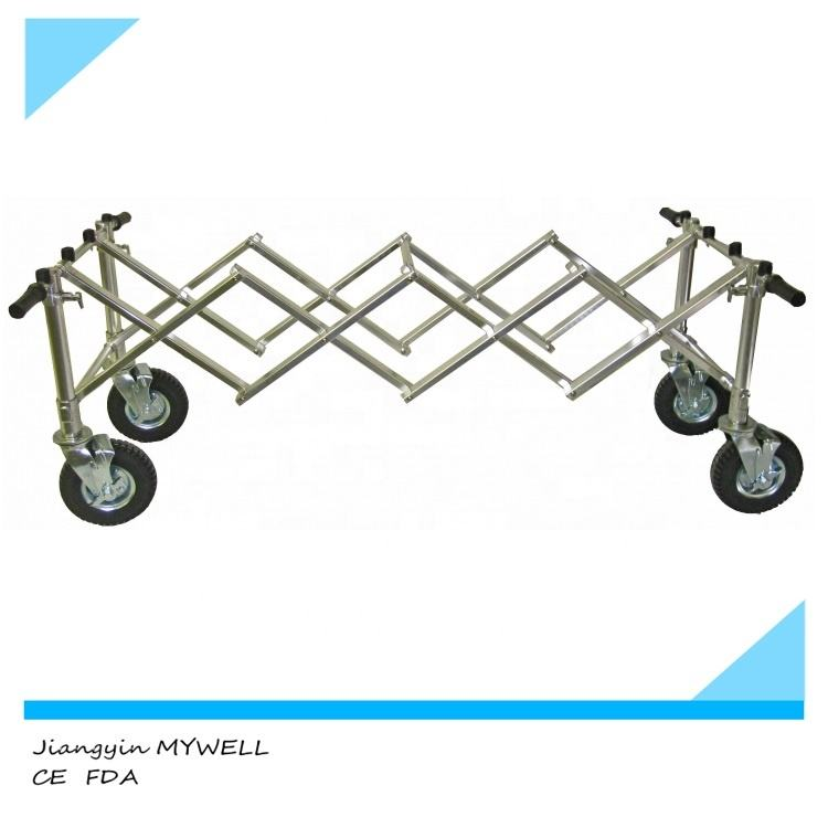 M-CT01 Stainless Steel Funeral Trolley for Church coffins Use