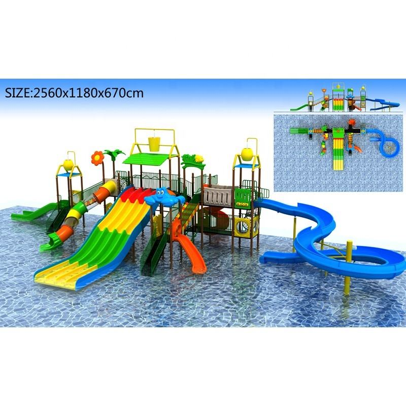 Fun water games kids water park water playground, water park slides for sale, water park equipment with price list water slide