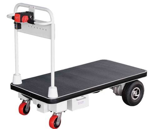 400Kg flattop cart 24V power logistics Electric Truck Widely Used Superior Quality Electric Drive Cart Platform Trolley