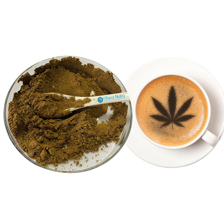 Customize instant soluble CBD coffee powder 1000mg to 3000mg per kilogram