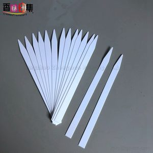 Ready to ship Perfume Tester Paper Arrow Shape Blank Smelling Paper for Perfume Test 126*8mm Essential oil Tester Strips