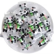 panda chocolate ball candy