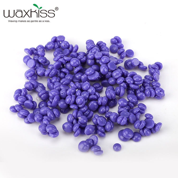 500G Hair removal azulene wax and SPA hot film hard depilatory wax beans for Hair removal coarse body hair