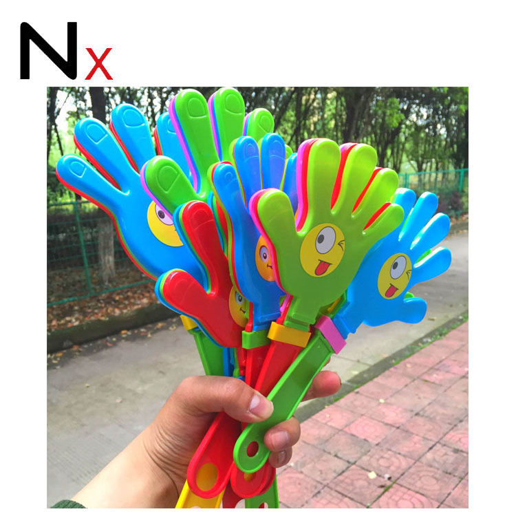 cheap wholesale pp plastic promotional hand clapper for all activities&events