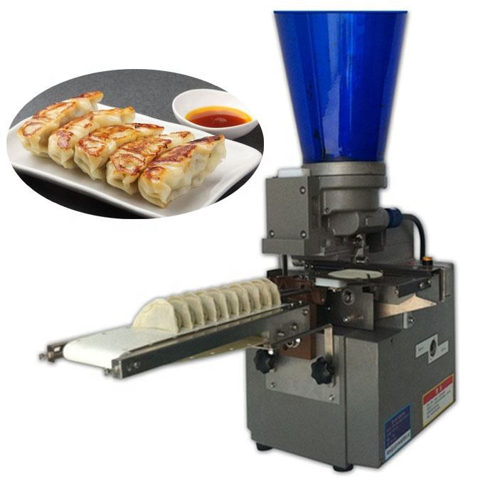 110v/220v tabletop automatic dumpling gyoza making machine/samosa/empanada machine/roti chapati wrapper machine