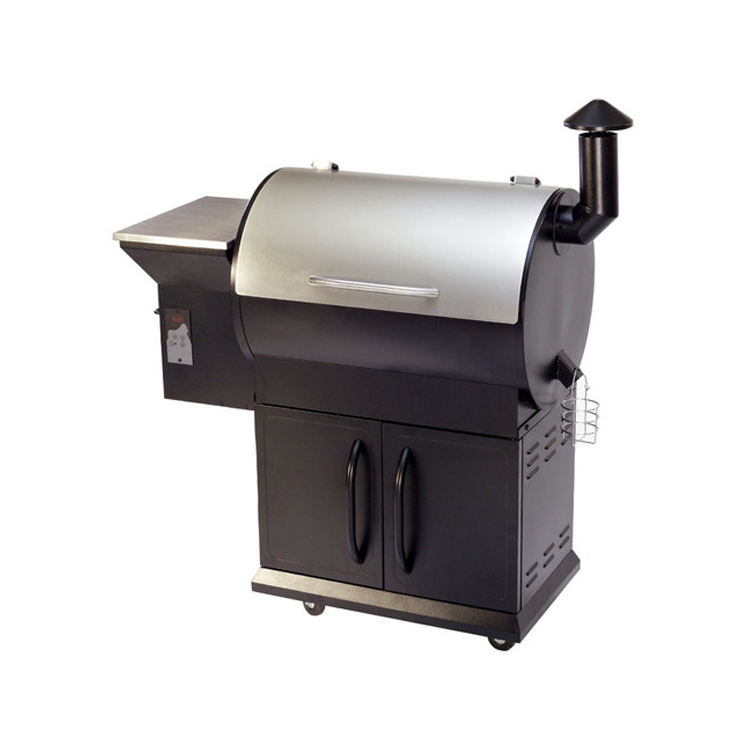 Large BBQ area for outdoor barbecue pizza traeger pellet grill
