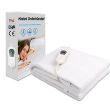 CE GS SAA Certificated Popular 110V 220V Electric Heated Blanket For Bed Warmer