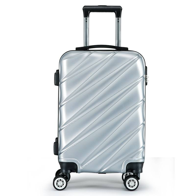 Hot Sale Abs Material 20 24 28 Inch Cheap Travel Bags Luggage Suitcase used luggage for sale