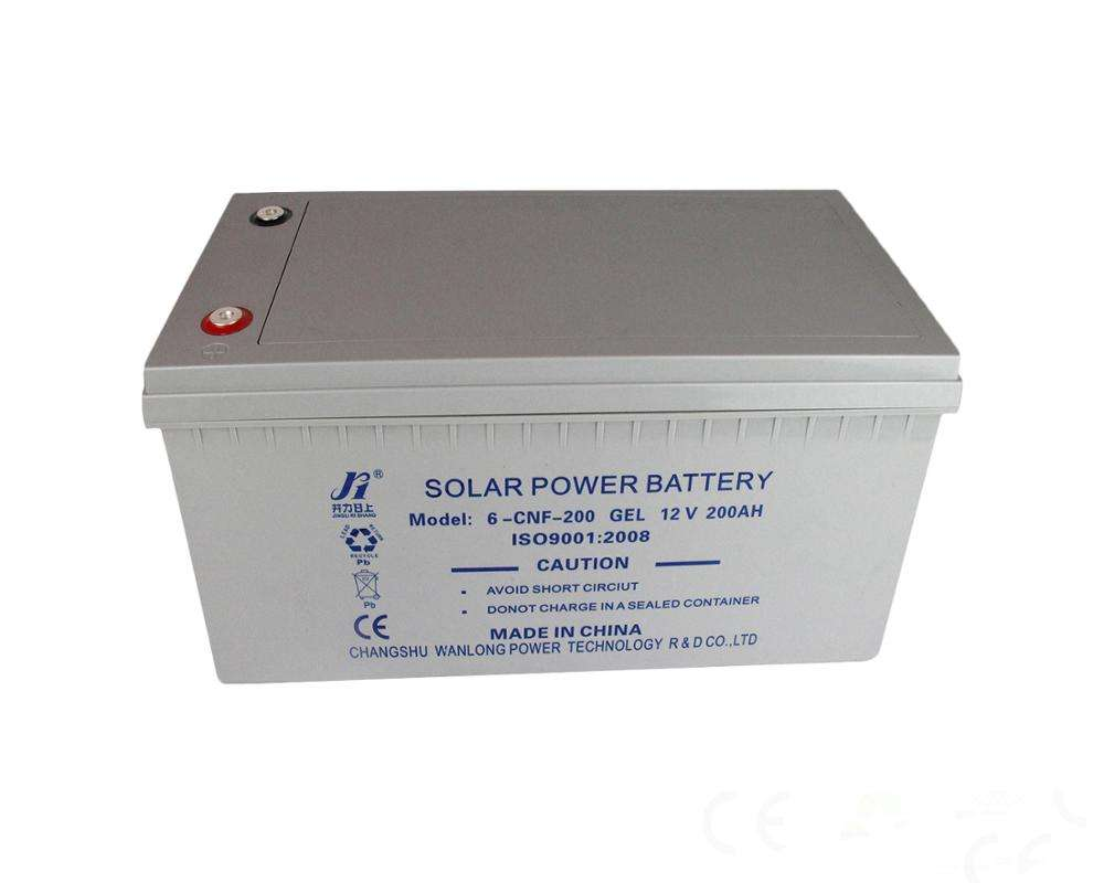 Deep cycle AGM solar storage battery 12v 200ah sealed maintenance free