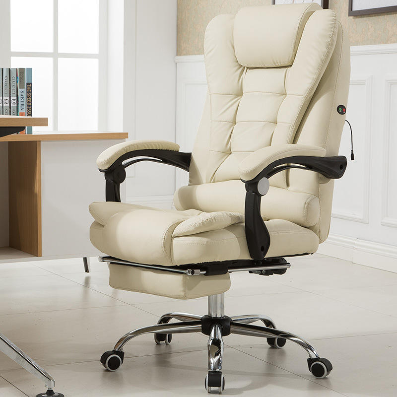Reclining boss chair executive chairs leather office chair with massage function