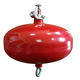 automatic powder fire extinguisher for A B C E Fire class/automatic hanging type CE extinguishers fire balls Red Ce