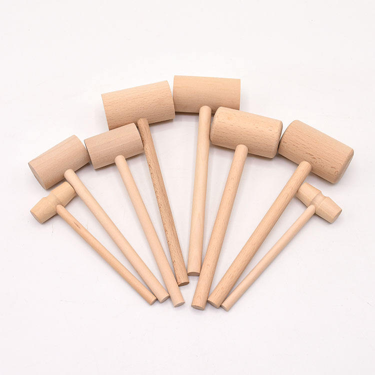 small mini wooden mallet hammer pets toys and accessories wooden crafts cake tools crab smith chasing hammer for chocolate