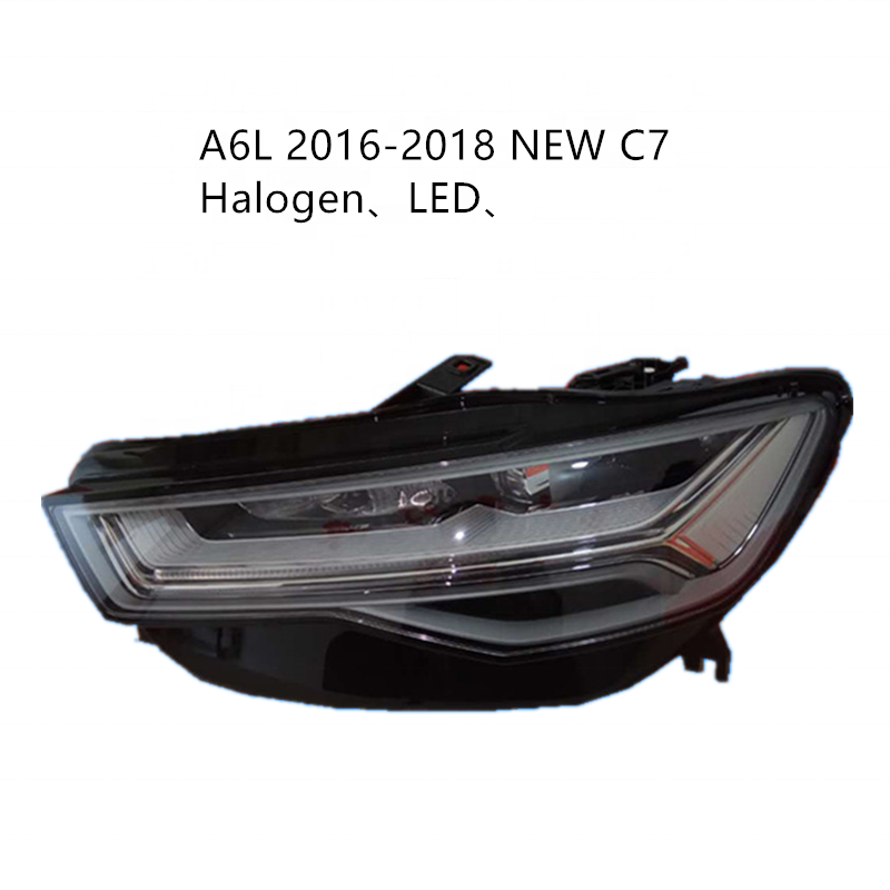 Made for 2009-18 new and old A6L headlamp assembly original factory C6 new C7 hernia LED matrix headlight