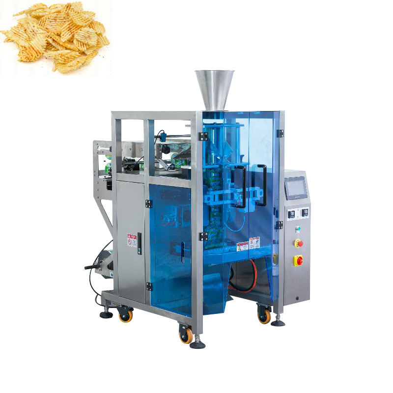 Sac automatique Faisant Verticale chanachur Chips Snack Emballage Machine