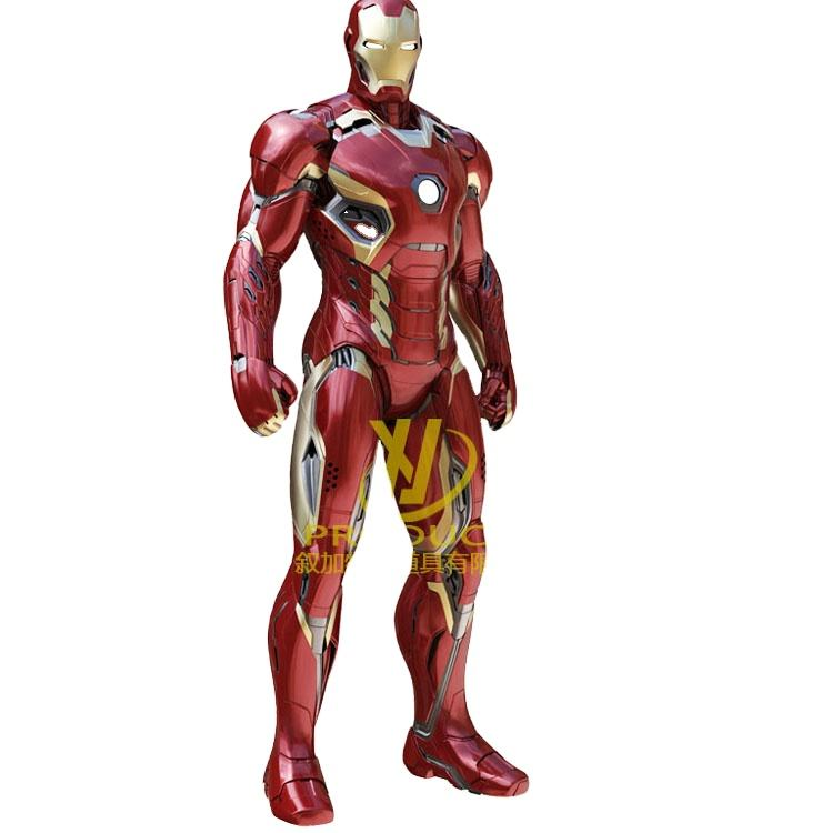 Cool hollywood ironmans customized festival cosplay iron mans suit for sale costume