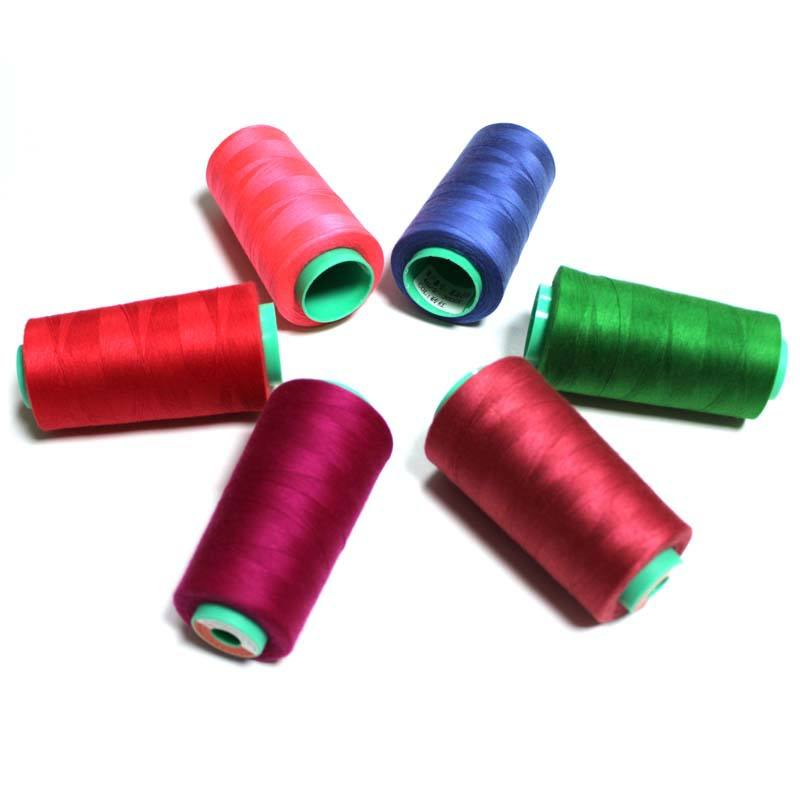 Graphic Customization Sewing Thread 100% Polyester 3000 Yards/Spool of yarn 40/2 Professional Threads for Sewing Machine