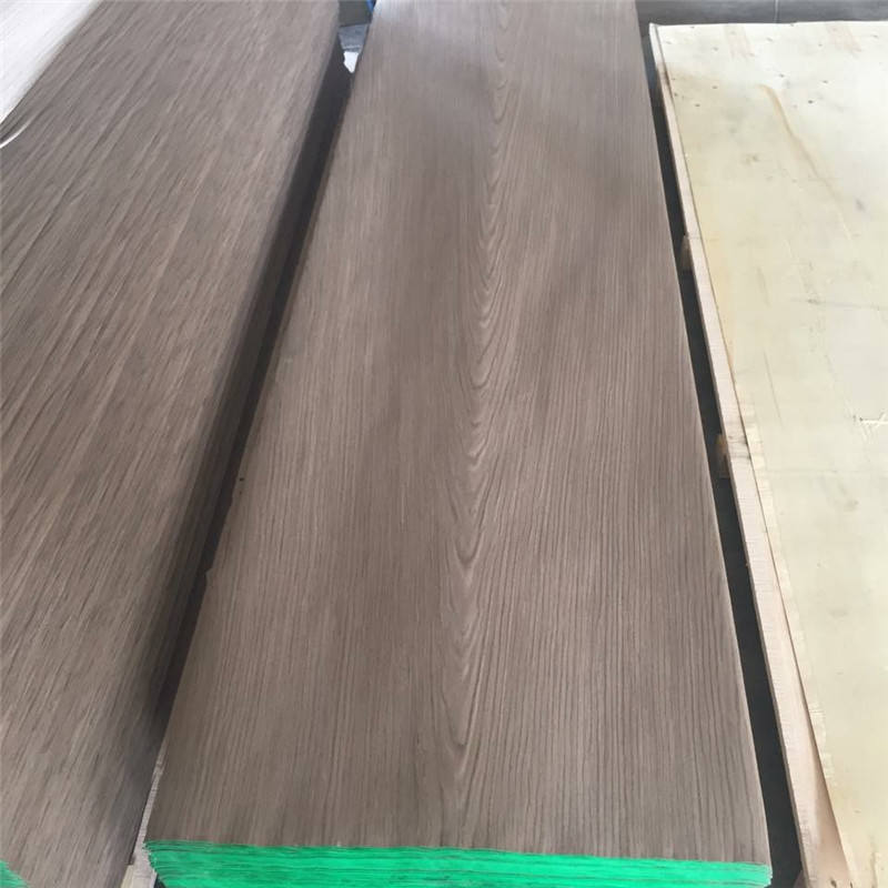 Reconstituted Black walnut Burl Wood Veneer Engineered Veneer
