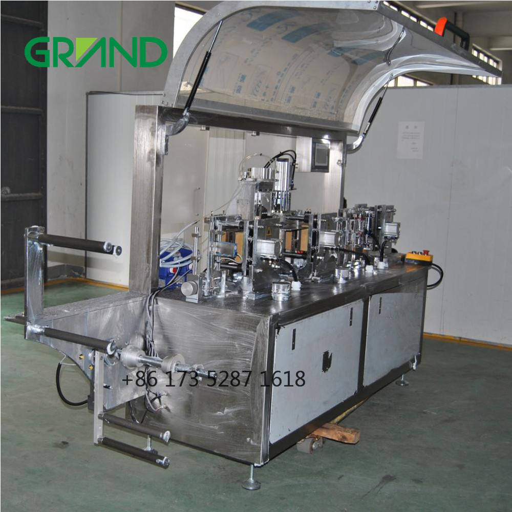 wet wipes production line making alcohol prep pad and wet tissue packing machine