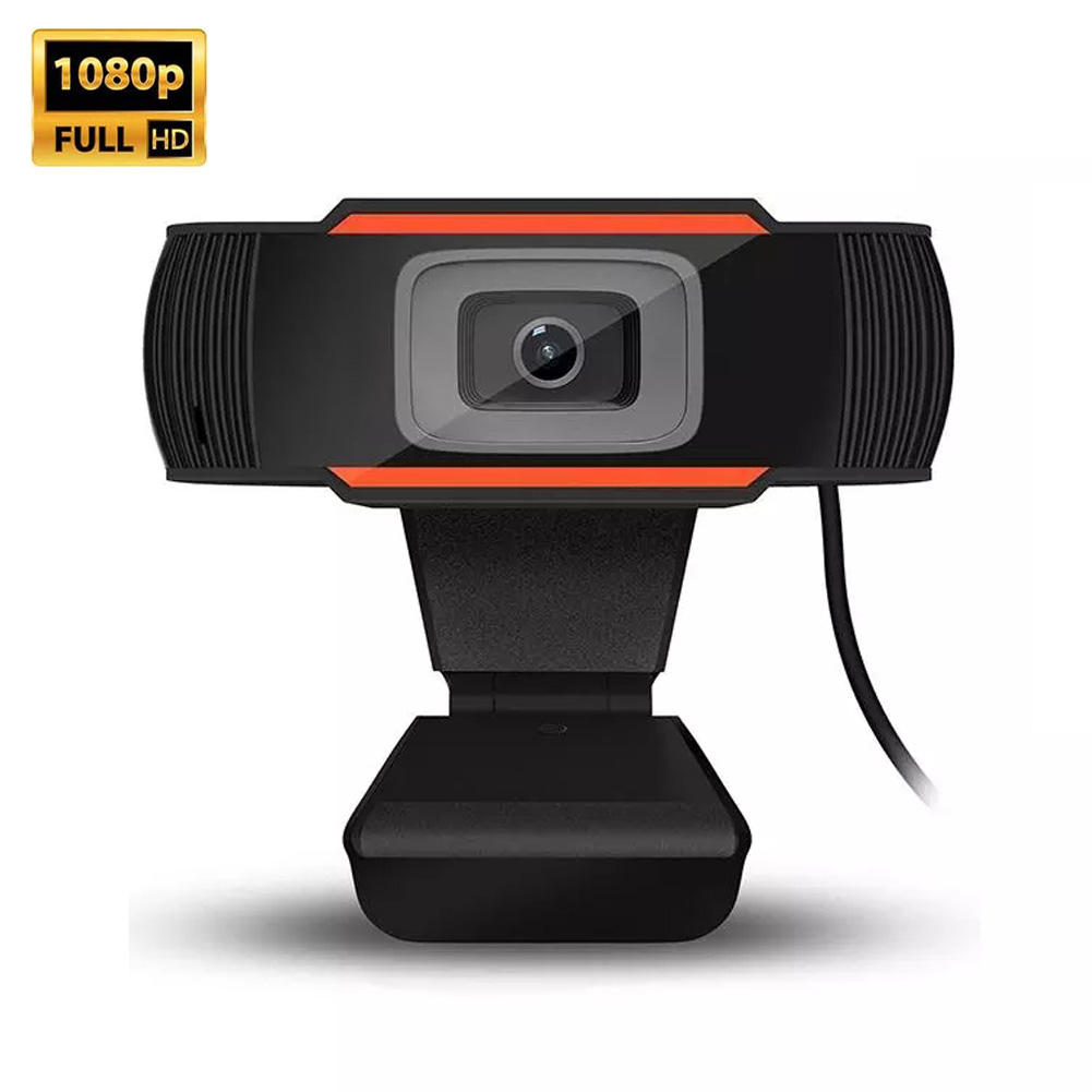 FULL HD 1080P Web Camera per la Trasmissione In Diretta YouTube Registrazione Video Conferenza Riunione USB Webcam