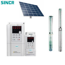 SINCR SV500 series solar pump inverter for water pump function for farm irrigation