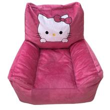New Pet Products Wholesale Lovely Cartoon Pattern Short Plush and Polyester Oxford Pet Sofa