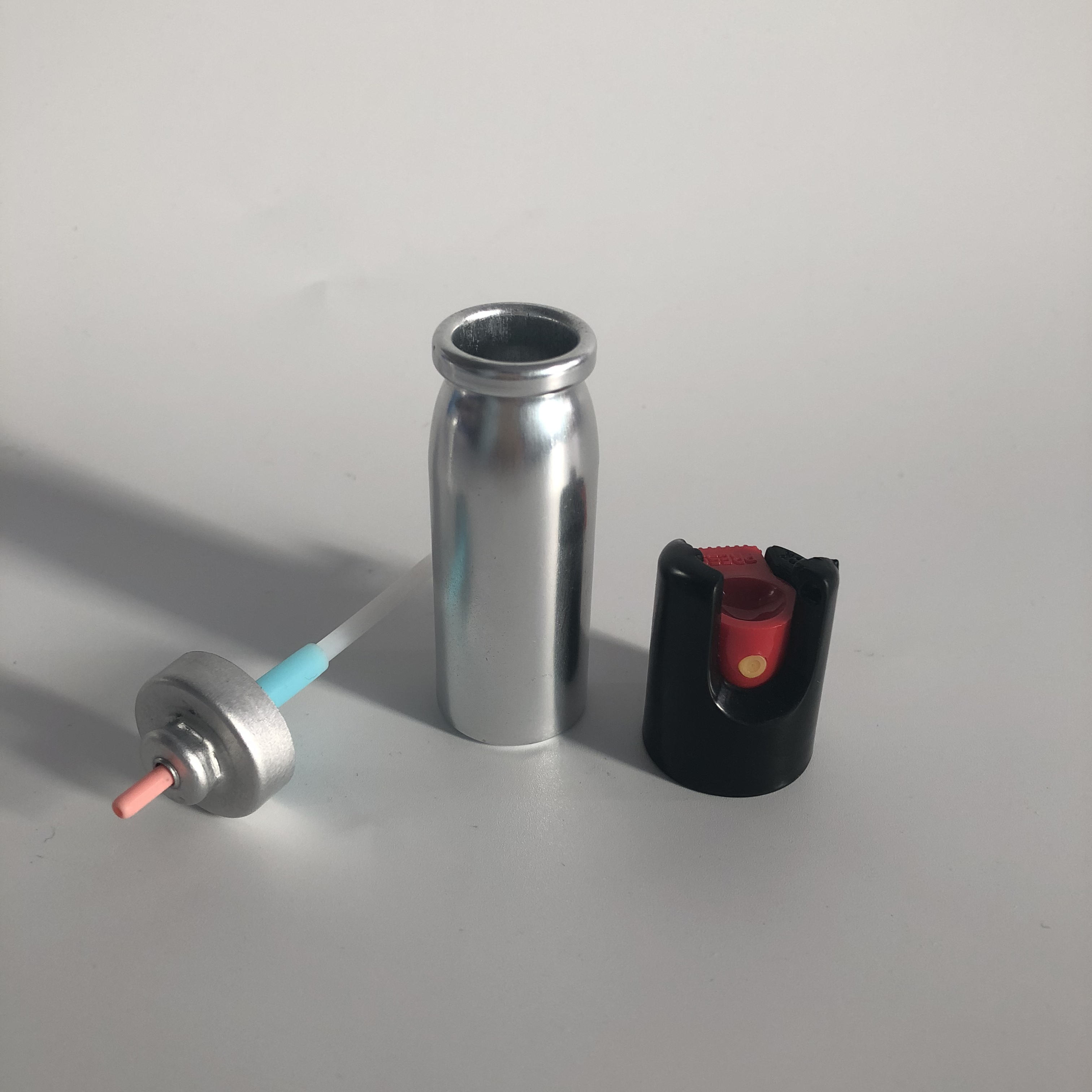 2021 Hot Sale Empty Aluminum Aerosol Can with Valve and Actuator for Pepper spray
