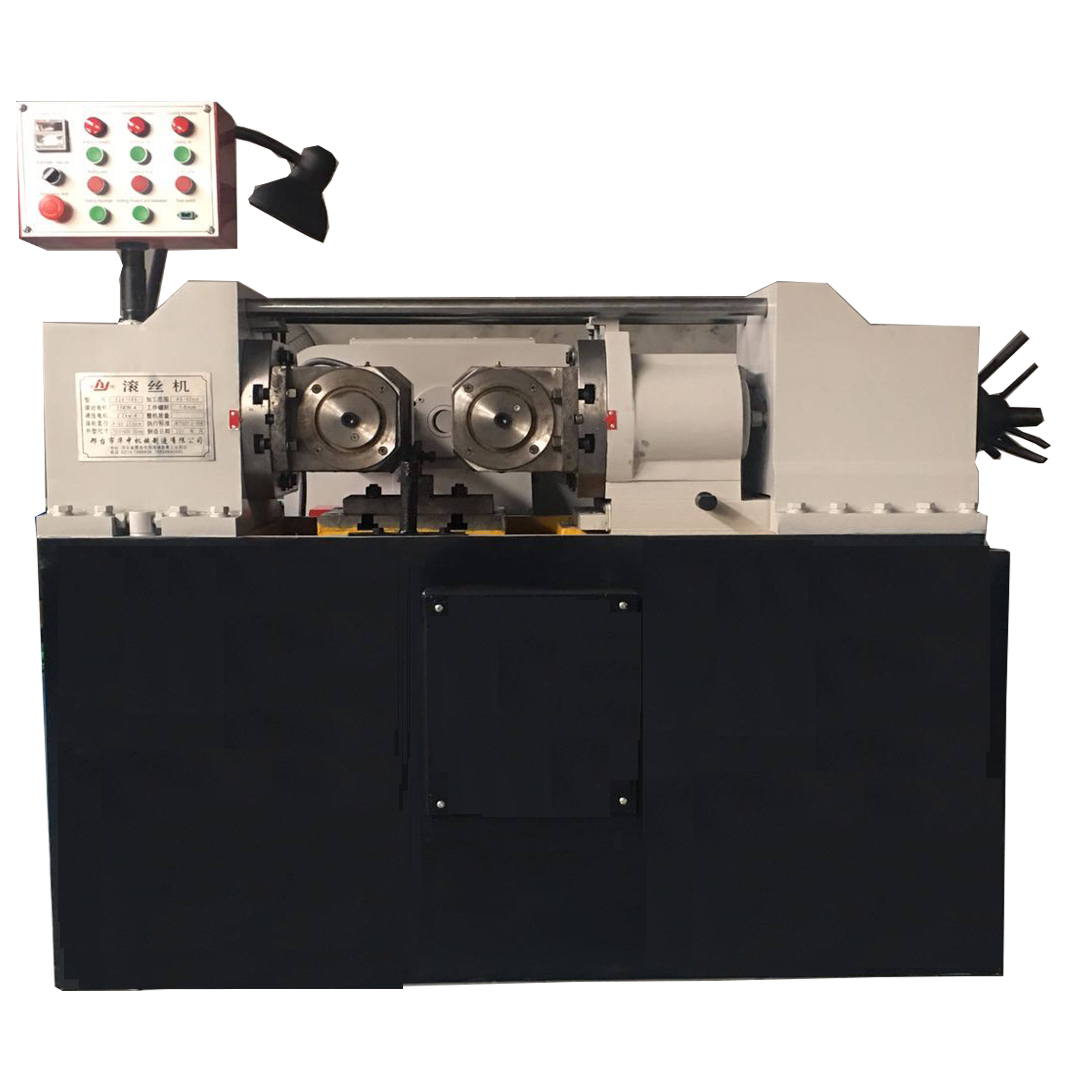 Automatic hydraulic thread rolling machine machine screw thread rolling machine High-speed thread rolling price
