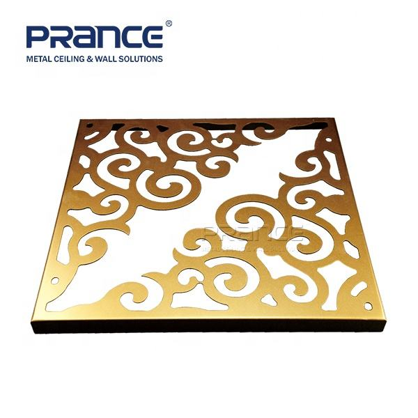 Solid Aluminum Panel Carved Aluminum Solid Panel For Aluminium Curtain Wall Facade Panel